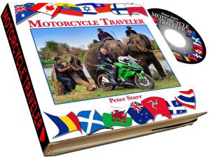 Motorcycle Traveler Book by Peter Starr